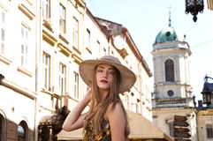 Travel guide, tourism in Europe Stock Images