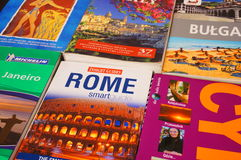 Travel guides Royalty Free Stock Photography