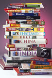 Travel Guides - East Asia Stock Photo