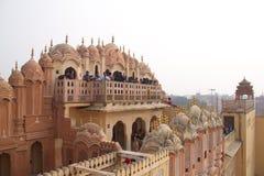 Hawa Mahal , Rajastan, Jaipur, India, 2012 , January, 3rd. Travel  the Hawa Mahal in Rajastan, Jaipur, India, Year 2012 , January, 3rd Royalty Free Stock Images