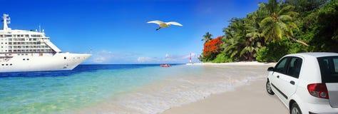 Travel header Royalty Free Stock Photo