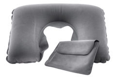 Travel headrest pillow Royalty Free Stock Image