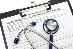 Travel health insurance Stock Photos