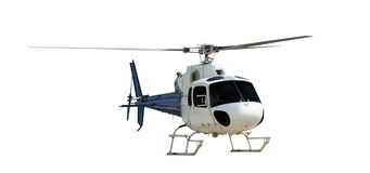 Travel helicopter Stock Image