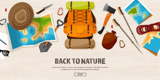 Travel,Hiking Background. Mountain Climbing. Royalty Free Stock Photo