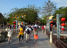 Travel Hoian Hoi An,Vietnam old town Royalty Free Stock Images