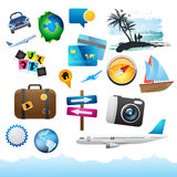 Travel & Holiday Elements. Stock Image