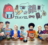 Travel Holiday Tourism Transportation Vacation Concept Stock Photography