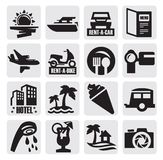 Travel icon Royalty Free Stock Photo