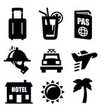 Travel icon Royalty Free Stock Photos