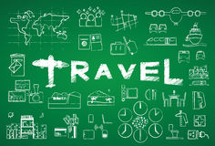 Travel icon Stock Photography