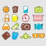 Travel icon Stock Image