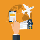 Travel icon design Stock Photo