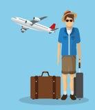 Travel icon design Stock Photos