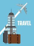 Travel icon design Royalty Free Stock Photo