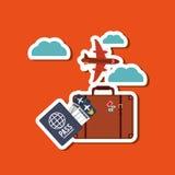 Travel icon design, vector illustration Stock Photo