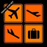 Travel icon set Stock Image