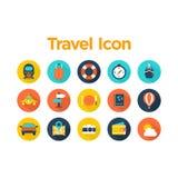 Travel Icon Set Stock Image