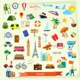 Travel icon set Royalty Free Stock Photo