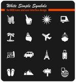 Travel icon set Stock Images