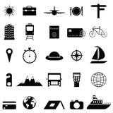 Travel icon set. The travel of icon set Stock Images