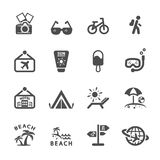 Travel icon set 2, vector eps10 Stock Photos