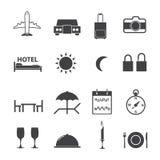 Travel icon set. Vector icons Royalty Free Stock Photo