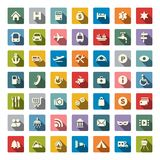 Travel icon set. Vector Illustration. Travel icon set Royalty Free Stock Images