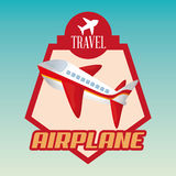 Travel Icon, Vector illustration Royalty Free Stock Photo