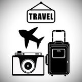 Travel Icon, Vector illustration Stock Photo