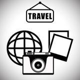 Travel Icon, Vector illustration Stock Image