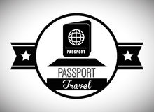 Travel Icon, Vector illustration Royalty Free Stock Images