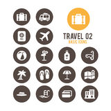 Travel icon. Vector illustration. Stock Photography