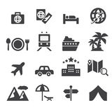 Travel icon Stock Photos