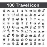 100 travel icon. Web icon illustration design vector sign symbol vector illustration