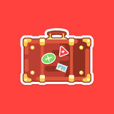 Travel-icons Royalty Free Stock Photo