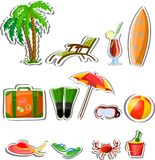 Travel icons,vector Stock Images