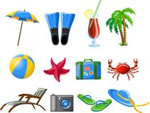 Travel icons,vector Stock Photo