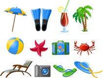 Travel icons,vector Stock Photo