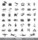 Travel Icons. Royalty Free Stock Photo