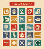 Travel Icons Stock Photos