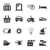 Travel 16 icons universal set for web and mobile Royalty Free Stock Image
