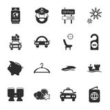 Travel 16 icons universal set for web and mobile Royalty Free Stock Images