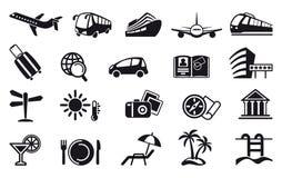 Travel Icons. Vector illustration Stock Photo