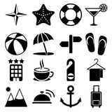 Travel Icons Vol2 Royalty Free Stock Photography