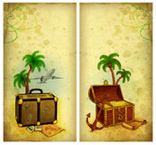 Travel illustration Royalty Free Stock Photos