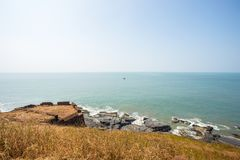 Travel in India. Beautiful scene in Goa, India Stock Photos