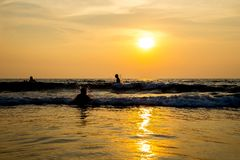 Travel in India. Beautiful scene in Goa, India Stock Images