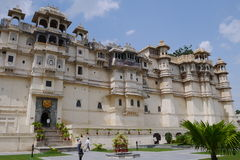 Travel India - City Palace in Udaipur. Stock Photography