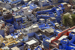 Travel India: Jodhpur - the blue city Stock Image
